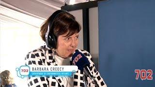 Minister Barbara Creecy joins Azania Mosaka
