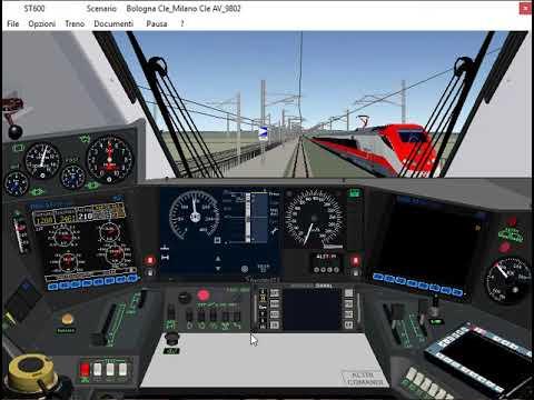 Simulatore Treno Di Paolo Sbaccheri: Linea Bologna - Milano AV/AC (Tratto Bologna - Reggio Emilia)