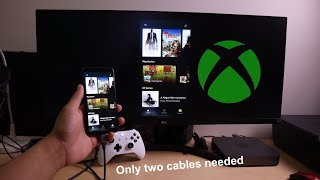 How to play Project Xcloud on your TV/Moniter From your Phone (Android)