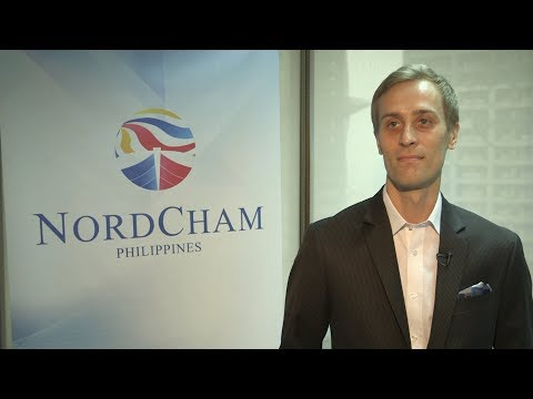 Joona Selin, Executive Director of the Nordic Chamber of Commerce of the Philippines