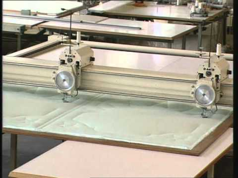 Single-Needle Quilting Machine MAMMUT P2S/P1S - YouTube : single needle quilting machine - Adamdwight.com
