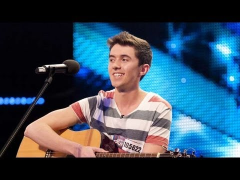 Ryan O'Shaughnessy - No Name - Britain's Got Talent 2012 audition - UK version