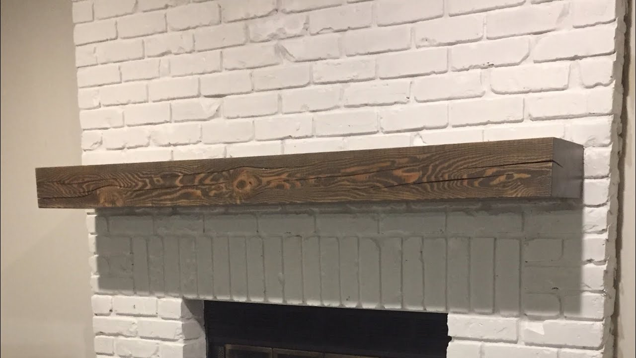 How To Install Fireplace Mantel With Hidden Bracket You