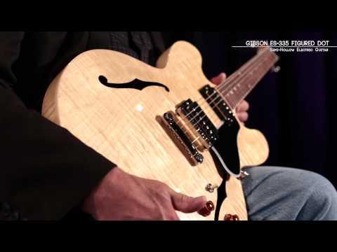Gibson ES-335 Dot Figured-Top Electric Guitar