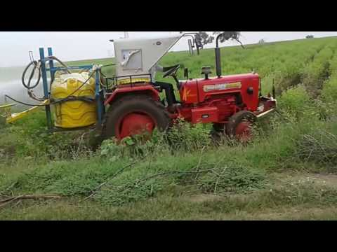 The best method to spray fertilizer to the crops, no man's required.