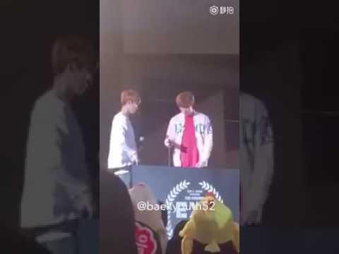 170514 Chanyeol and Baekhyun at Exo Japan Fanmeet