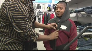 Local veterinarian sends kids on shopping spree