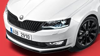 Новый Шкода Рапид в РОССИИ в апреле! + Range Rover Velar Clickoncar news #13