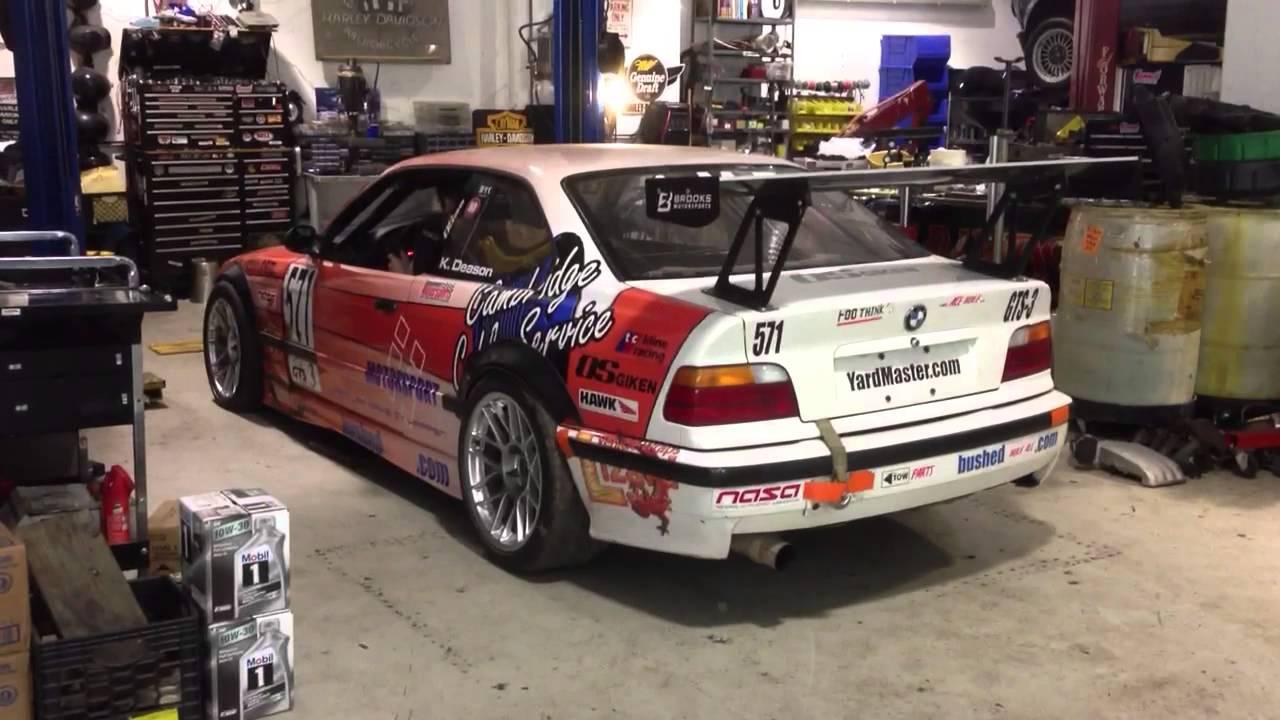 E36 M3 Race Car Rev Youtube