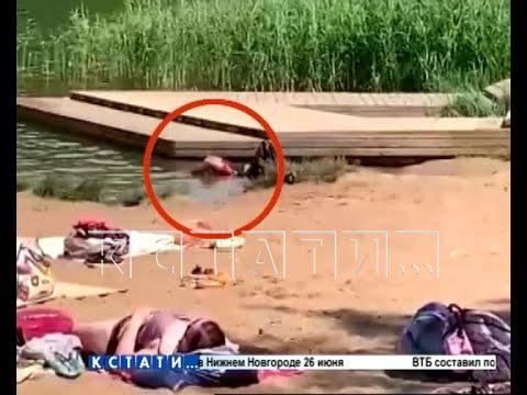 Тело утонувшего 16 часов пролежало в воде - но это не мешало сотням отдыхающих купаться и загорать