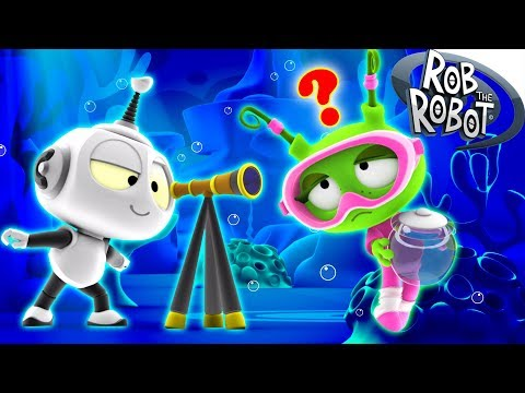 Learn Science | Preschool Learning Videos | Rob The Robot