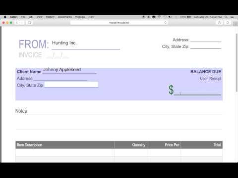 How to Write a Simple Receipt Form PDF – Simple Receipts
