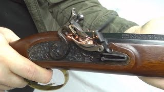 Hawken flintlock rifle: Review and introduction to muzzleloaders