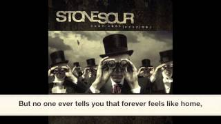 Stone Sour- Through Glass (HQ)