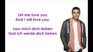 Glee - Let me love you (until you learn to love yourself) deutsche Übersetzung