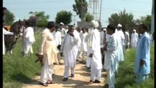 raja khizer langriyal`s  friendship with amir in morha langrial on ( wedddind party ) firing