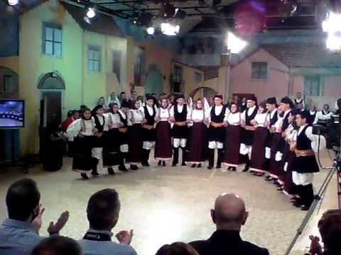 Gruppo folk di Teti ad Anninnora
