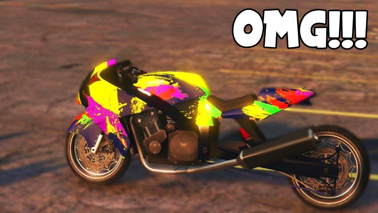 Fastest motorcycle on gta 5