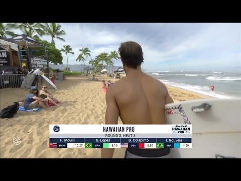 Hawaiian Pro, Men's Qualifying Series - Round 3 heat 3