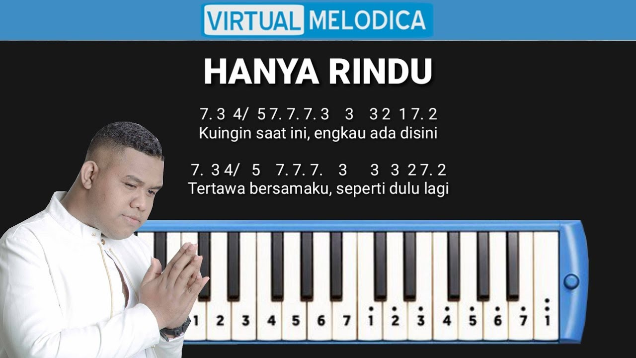 Not Pianika Hanya Rindu Andmesh Youtube