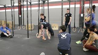 Gymnastics Course - Ring Push-Ups