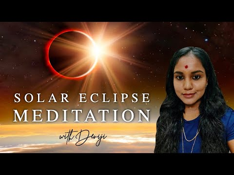 Solar Eclipse Healing Transformation Meditation with Deviji from YouTube · Duration:  46 minutes 6 seconds