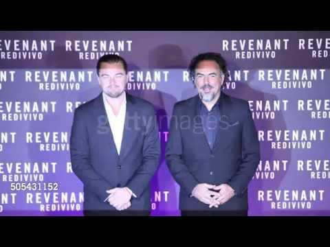 15.01.2016 Leonardo DiCaprio  Premiere TheRevenan Rome, Italy