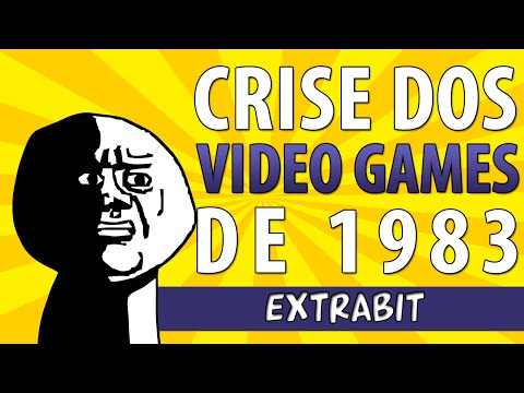 O que foi o GRANDE CRASH DOS VIDEO GAMES de 1983?