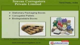 Corrugated Cardboard Boxes & Machines By Sravan Corrugaters Private Limited, Chennai