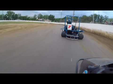 Snydersville Raceway Senior Animal Champ Heat Race (July 7, 2017)