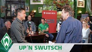Zlatko Junuzovic in der Brommy-Kneipe | Werder up'n Swutsch