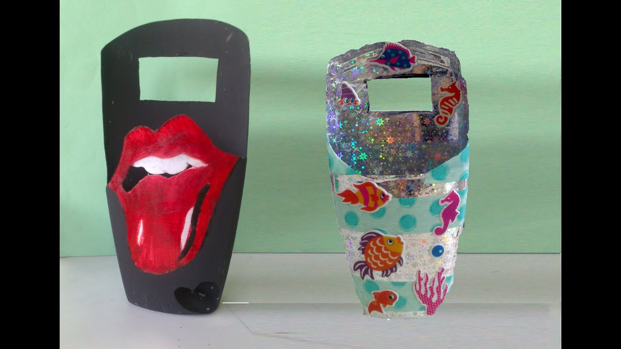 Imagenes De Botellas Plasticas Decoradas