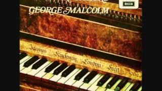 George Malcolm, J.S.Bach BWV 903 Chromatic Fantasy and Fugue in D minor