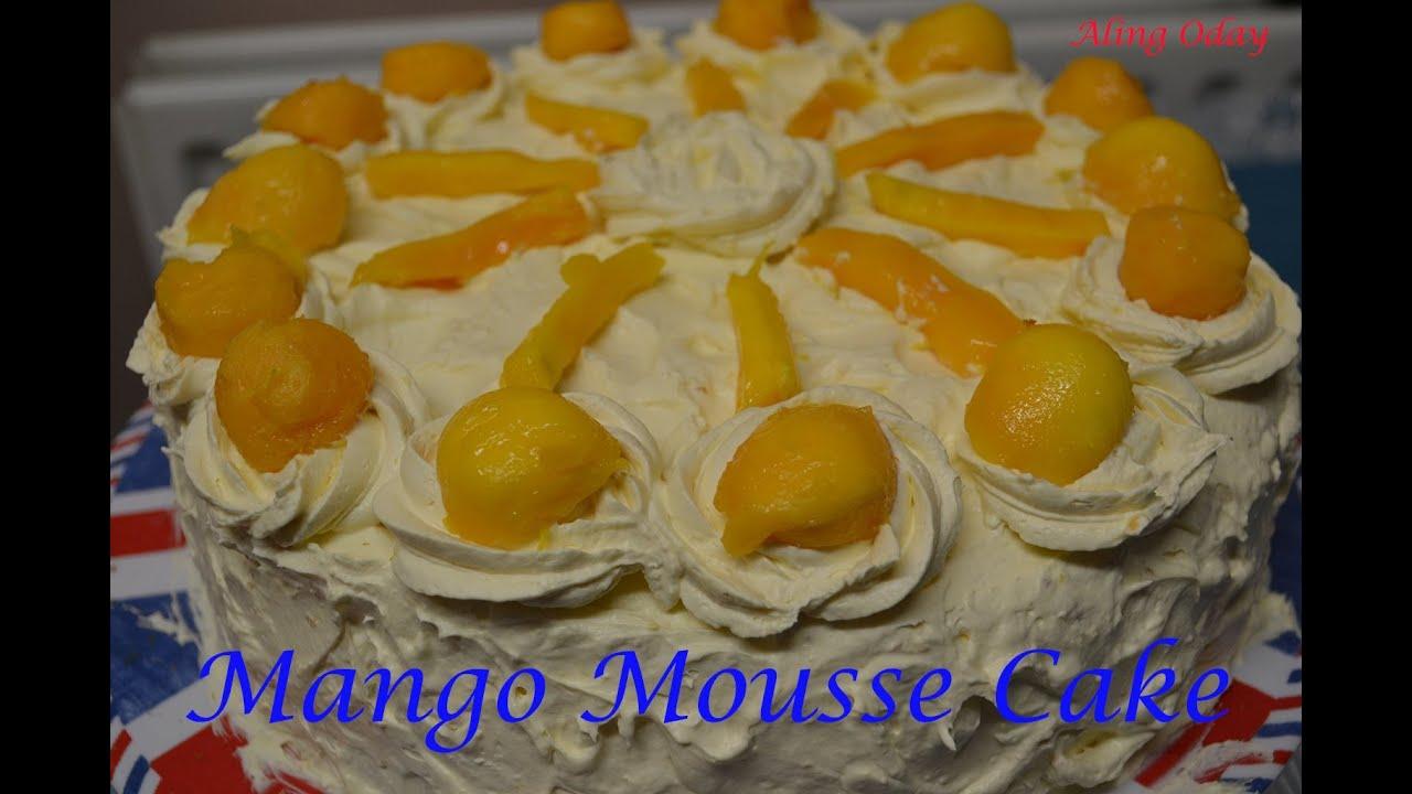 How To Make Mango Cake Like Red Ribbon
