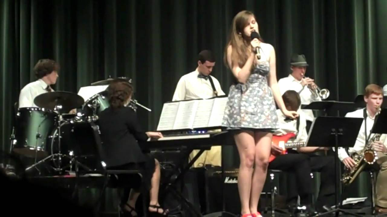 Come Fly With Me - MPHS Jazz Band with Larkin Dodgen - YouTube