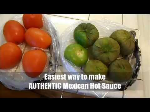 Recipe: Authentic Mexican Hot Sauce Salsa Easiest Way To Make It