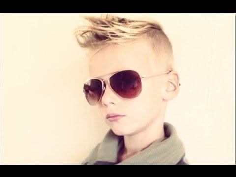 Cool Kids Boys Hair Cuts - YouTube