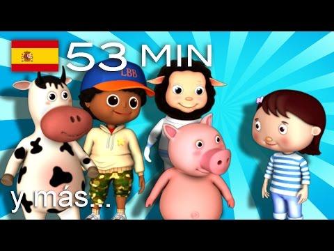 Al corro de las flores | Y muchas más canciones infantiles | ¡53 min de LittleBabyBum!