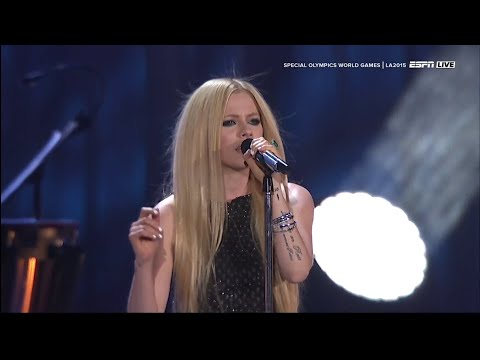 Avril Lavigne - Fly @ Special Olympics World Games 2015