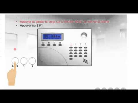 Alarme sans fil installation d 39 une sir ne suppl mentaire for Installer une alarme sans fil
