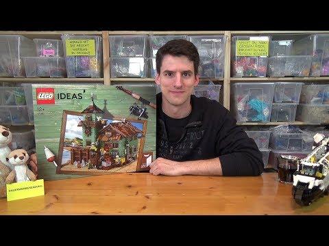 Bauen mit dem Helden - LEGO® Ideas 21310 - Alter Angelladen - Unboxing & Baustart