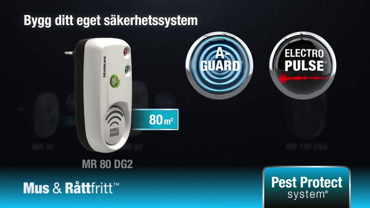 Attraktiva Mus & Råttfritt™ 80/200 - Silverline TS-08