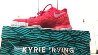 Kyrie 3 Shoe Unboxing
