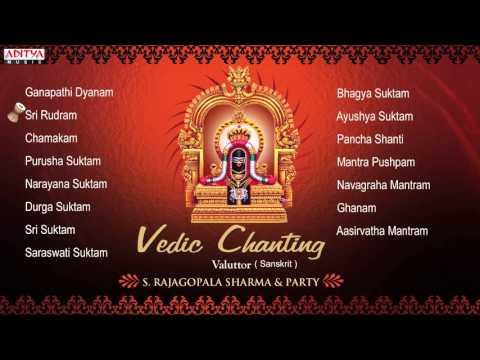 Vedic Chanting || S. Rajagopalsharma || Sanskrit Devotional Jukebox