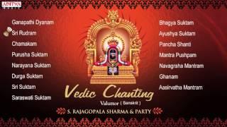 Vedic Chanting || S. Rajagopalsharma || Sanskrit Devotional Jukebox
