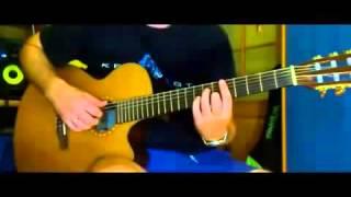 Импровизация на гитаре в стиле джаз! Так может каждый, отличный урок