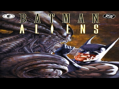 BATMAN/ALIENS CROSSOVER │ Comic History