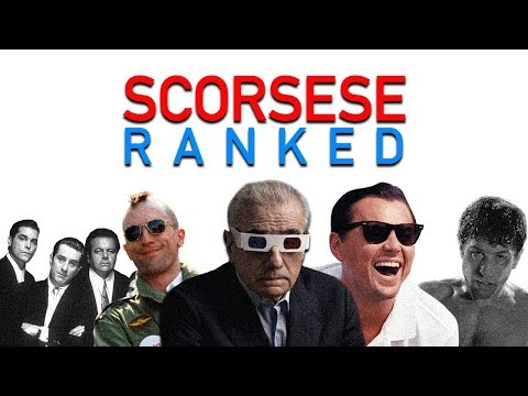 Martin Scorsese Ranked