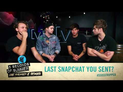 "5 Seconds of Summer play ""first and last"""