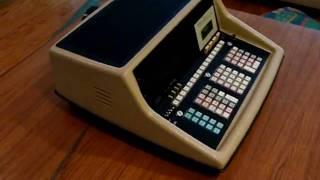 Wang 700 series 720C Nixie Tube Calculator